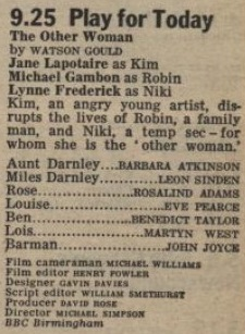 Radio Times, 6th January 1076