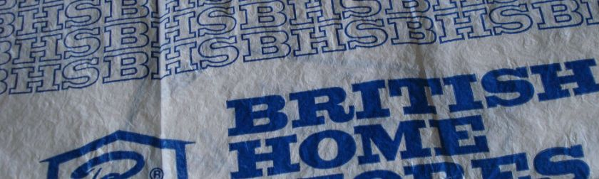 British Home Stores bag