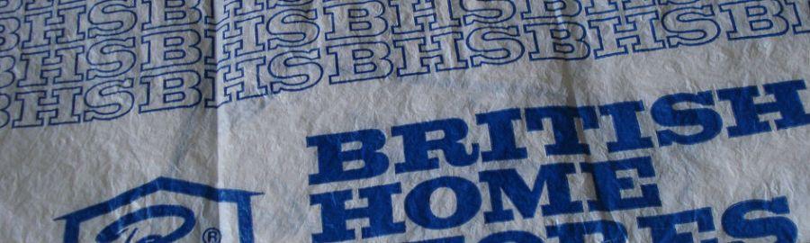 British Home Stores bag