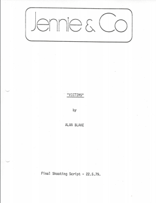 Victims screenplay